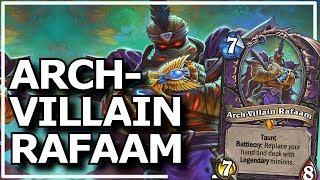 Hearthstone - Best of Arch-Villain Rafaam