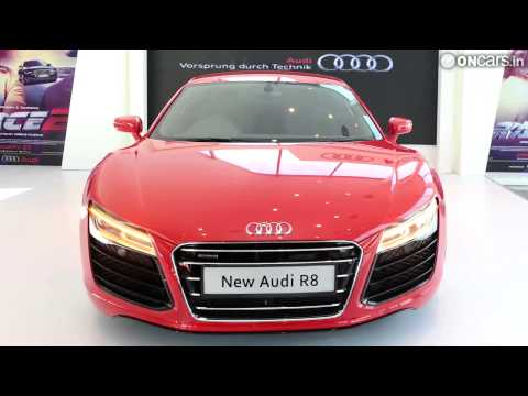 2013 Audi R8 facelift launched in India at Rs 1.34 crore