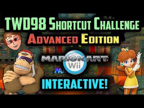 Mario Kart Wii - YOU vs TWD98 Shortcut Challenge [Advanced Edition]