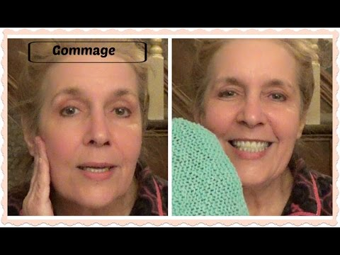 Anti-Aging Skin Care for Men & Women ~ Exfoliation ~ Gommage Demonstration