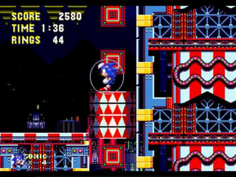 OmegaRadiost Gameplay (Sonic The Hedgehog 3: Carnival Night Zone Act 1, 2 And Boss)