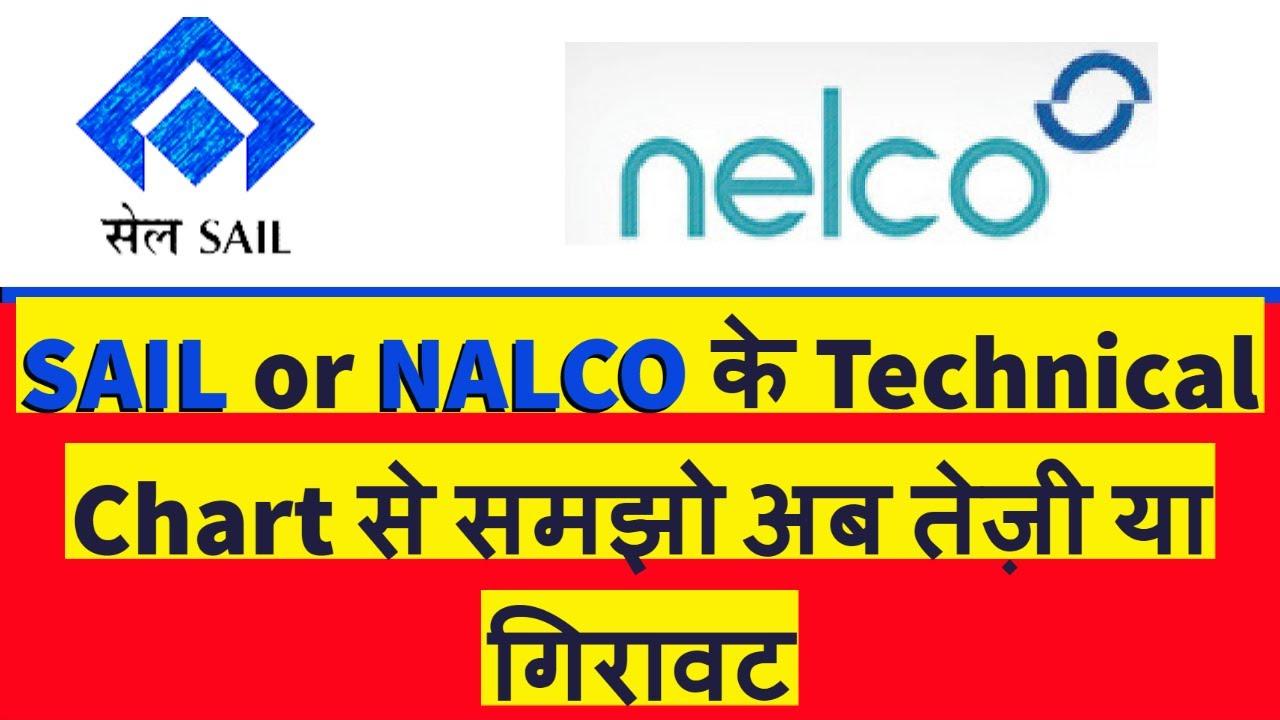 SAIL or NALCO के Technical Chart से समझो अब तेज़ी या गिरावट / Stock Market News /