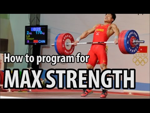 3 Most Important Guidelines to Program for Maximum Strength | PART 1