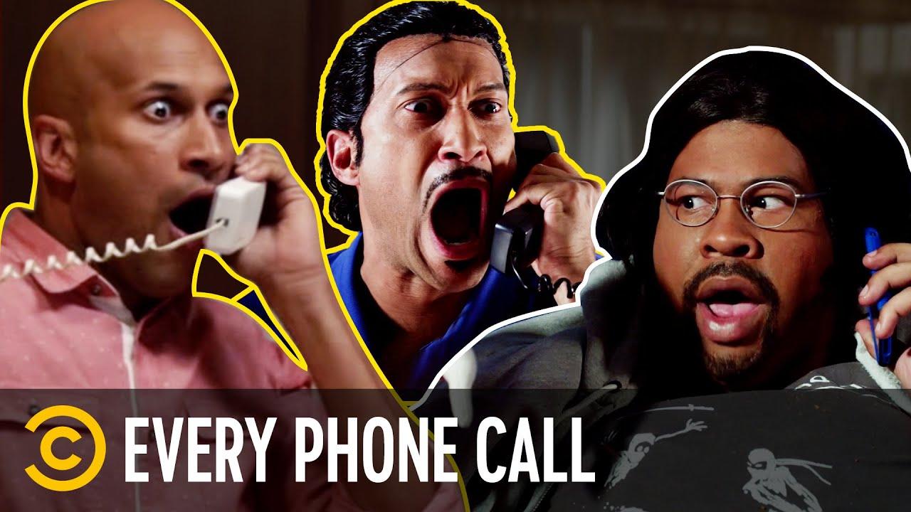 Every Phone Call Sketch Ever - Key & Peele