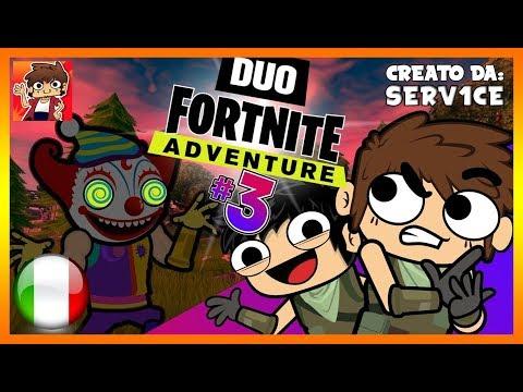 Duo FORTNITE Adventure (Parte 3) | SERV1CE - DOPPIAGGIO ITA