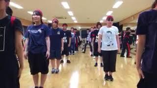 9月15日16日17日 新潟市で開催される にいがた総おどり 演舞の練習風景...