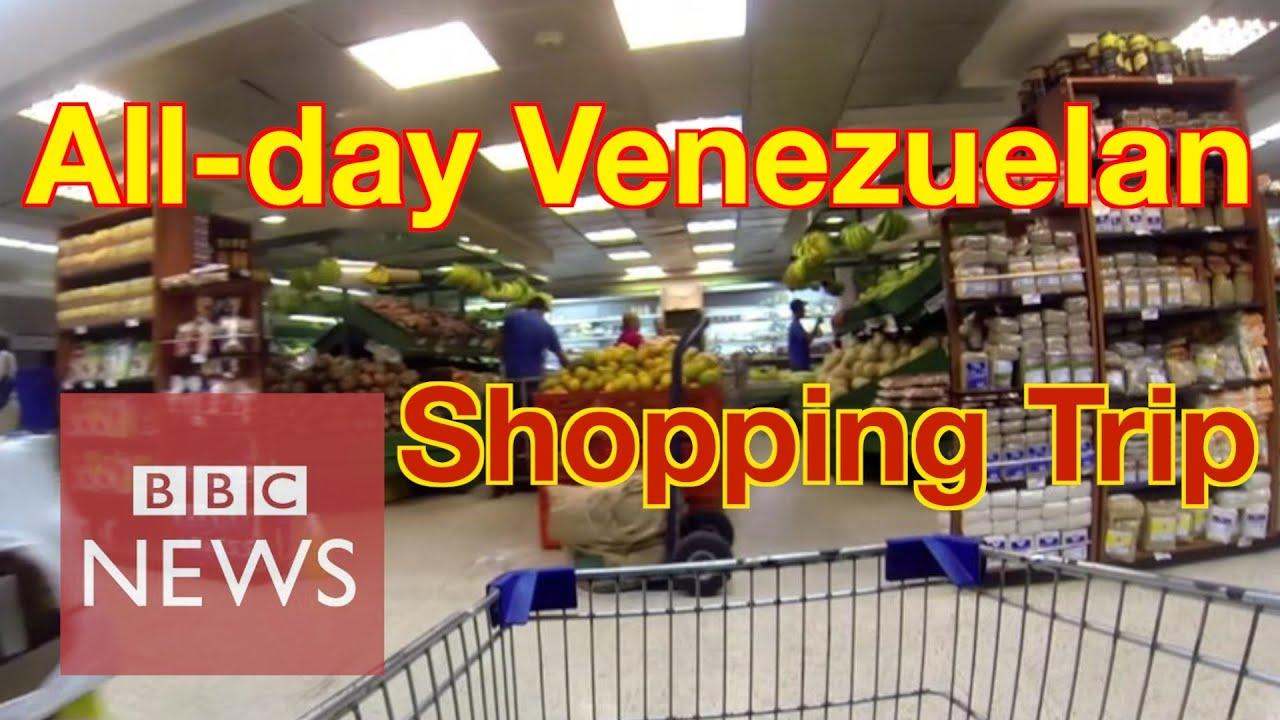 Venezuela: How long does it take to buy 8 basic goods? BBC News