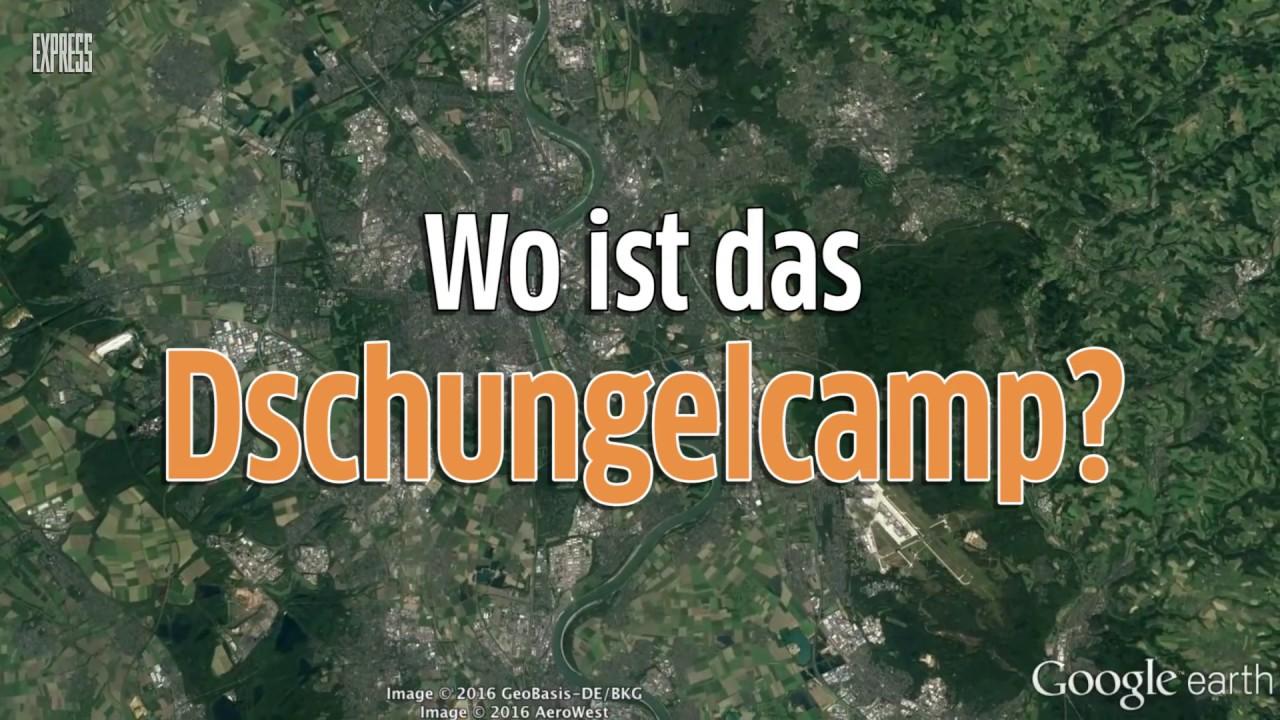 Dschungelcamp Google Earth