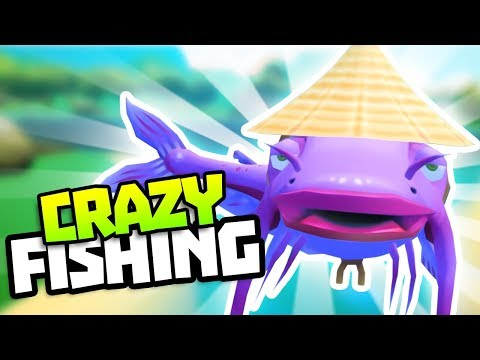 LEGENDARY WISE FISH! - All Legendary Fish in Crazy Fishing VR Gameplay - VR HTC Vive Let's Play
