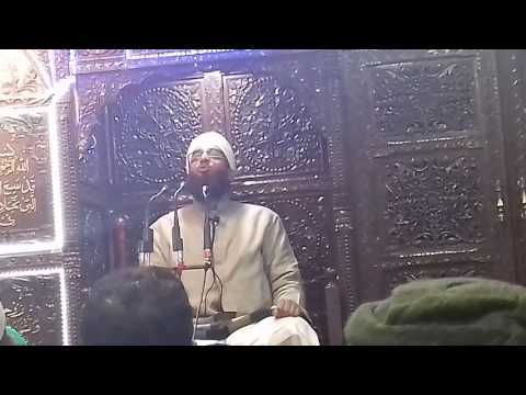 MAULANA AB RASHEED DAWOODI SAHAB IN SAREBAL DASTGEER SHAB SHRINE
