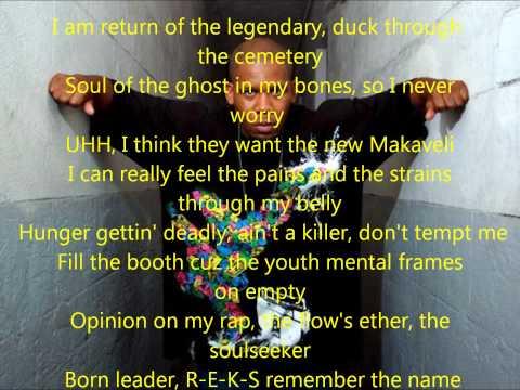 Reks - Say Goodnight lyrics