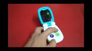 Kaichi Toys Celular Con Tapa Luces Y Sonidos PARA Bebés