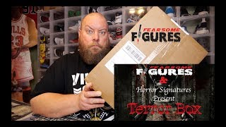 Unboxing the May 2019 Fearsome Figures TERROR Horror Mystery Box + Autographs & Collectibles