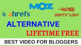 ahreafs and Semrush Alternative Lifetime Free
