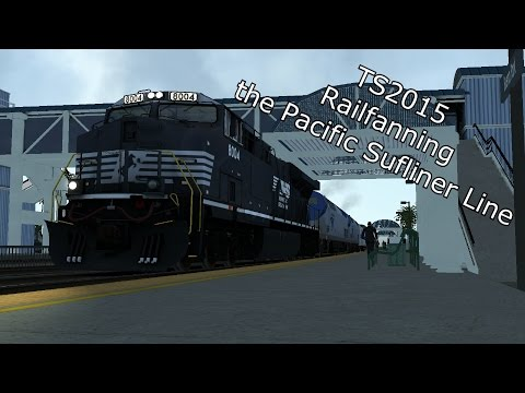 TS2015 - Railfanning The Pacific Sufliner Line |