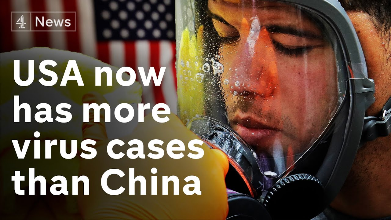 U.S.A has almost 100,000 virus cases – more than China – what next?
