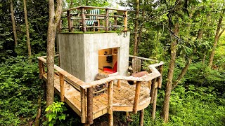 Building MICRO HOUSE 64 sq ft. on Stilts (COMPLETE BUILD)