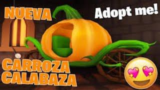 SORTEO DE NUEVA CARROZA DE CALABAZA DE HALLOWEEN ADOPT ME !!!
