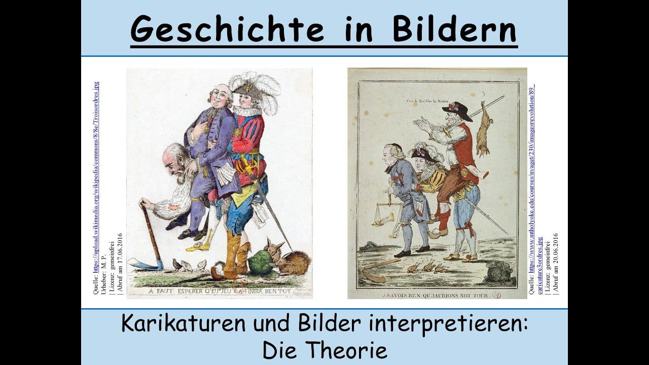 Karikaturen Bilder Analysieren Und Interpretieren Wie Geht Das
