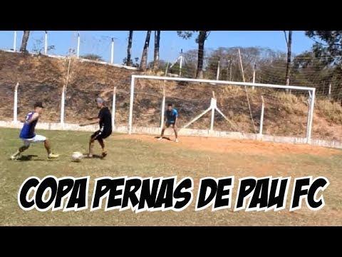 1º COPA PERNAS DE PAU FC ▶  João Pomba vs Thomas