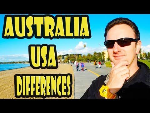 Australia vs USA: 20 Differences
