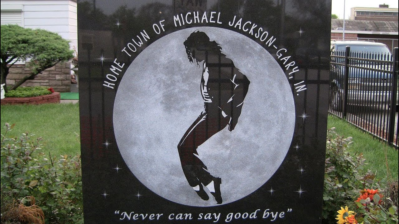 Michael jackson 39 s childhood home and memorial in gary for Jackson 5 mural gary indiana