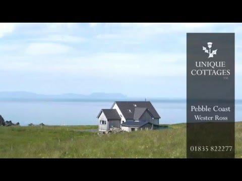 Pebble Coast Cottage, Wester Ross | Unique Holiday Cottages