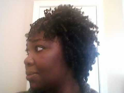 Crochet Braids With Jamaican Hair : Finished crochet braids with Jamaica Braid hair - YouTube