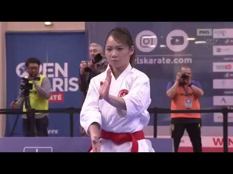Grace Lau Vs Maria Dimitrova - WKF Karate 1 World Premier League Paris 2018
