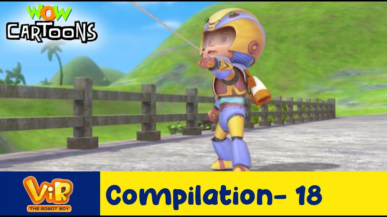 Vir the robot boy | Action Cartoon Video | New Compilation - 18| Kids Cartoons | Wow Cartoons