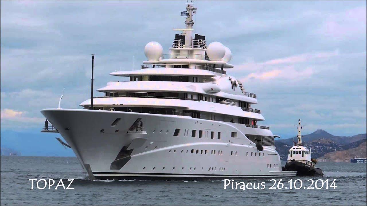 Sheikh Mansour Al Nahyan His Us 400 000 000 Topaz Yacht