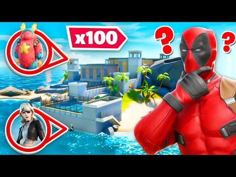 *NEW* 100 Player Hide & Seek In PRISON! (Fortnite New Map)