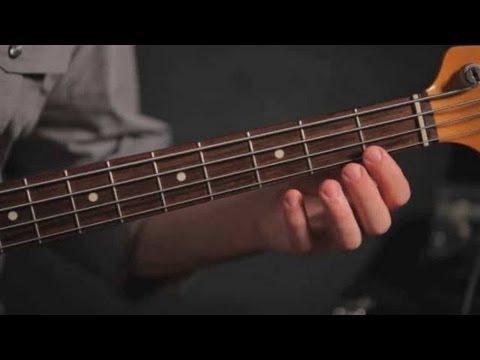 basic fretting technique bass guitar youtube. Black Bedroom Furniture Sets. Home Design Ideas