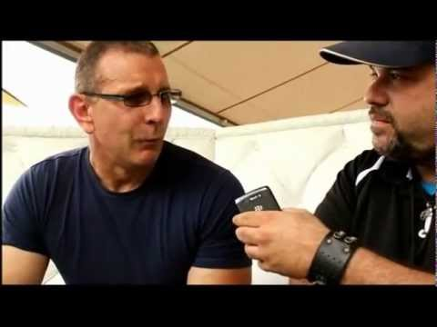 Robert Irvine interview at the SOBE Fest event Fun and Fit as a Family at Jungle Island
