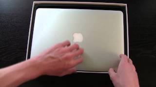 Mid 2012 MacBook Air 13 Unboxing - June 11th Model