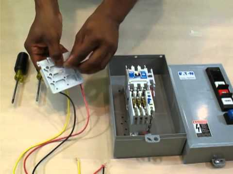How to install a Hand-Off-Auto kit - YouTube Hand Off Auto Contactor Wiring Diagram on hand off auto wiring 120v, air compressor pressure switch diagram, hand off auto ladder diagram,