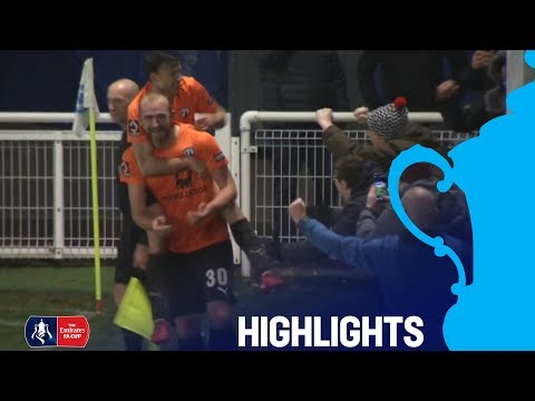 Billericay 1-3 Chesterfield | Two Late Goals Stun Billericay | Round 1 | Emirates FA Cup 2018/19