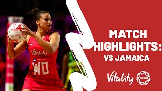 Vitality Netball Nations Cup | Vitality Roses vs. Jamaica