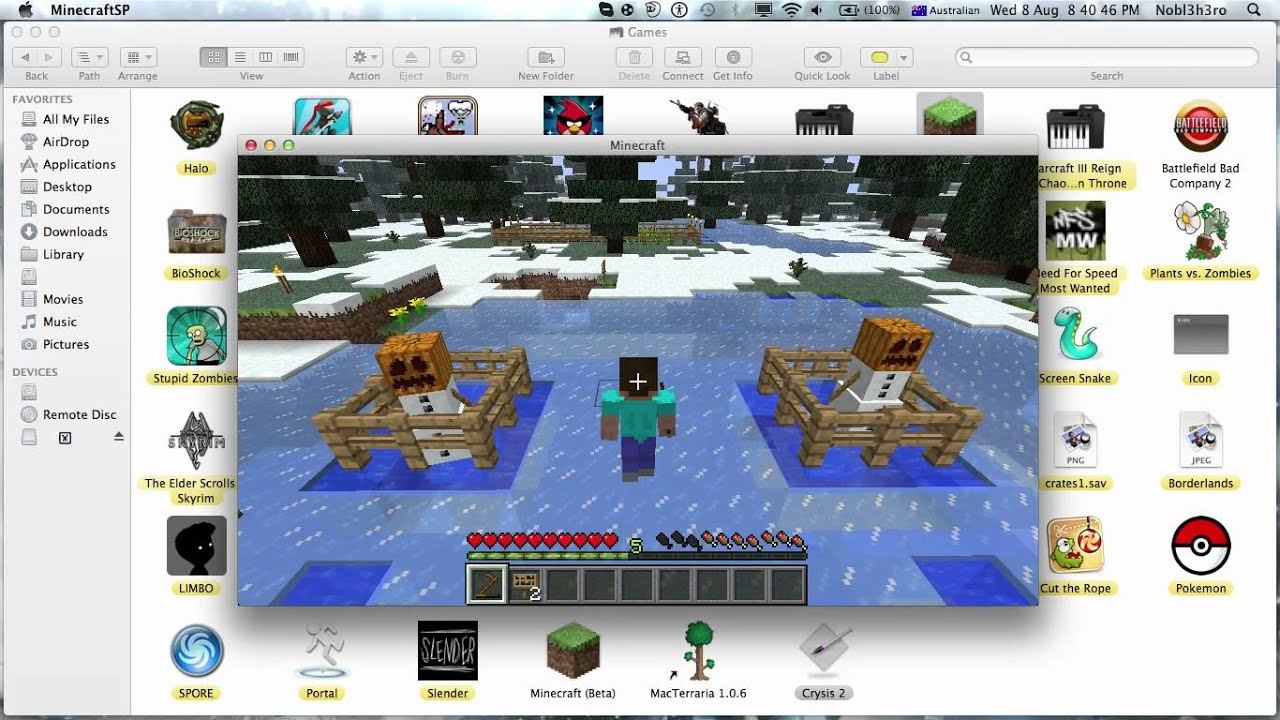 How To Change Your Skin On Minecraft [cracked] (mac)