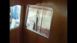 restoring The Shasta Part 21b - Trimming In The Plexiglass.