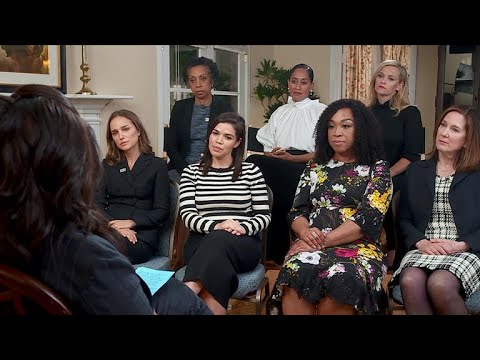 "Oprah Winfrey speaks with ""Time's Up"" organizers for CBS Sunday Morning"