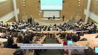 Yvelines | grand débat : 300 participants de Guyancourt et Montigny-le-Bx