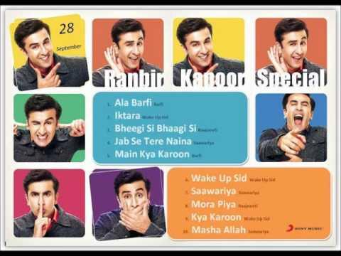 Ranbir Kapoor Birthday Playlist