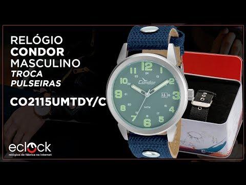 649b55e688c Relógio Masculino Champion CN20060C Analógico Preto Pulseira