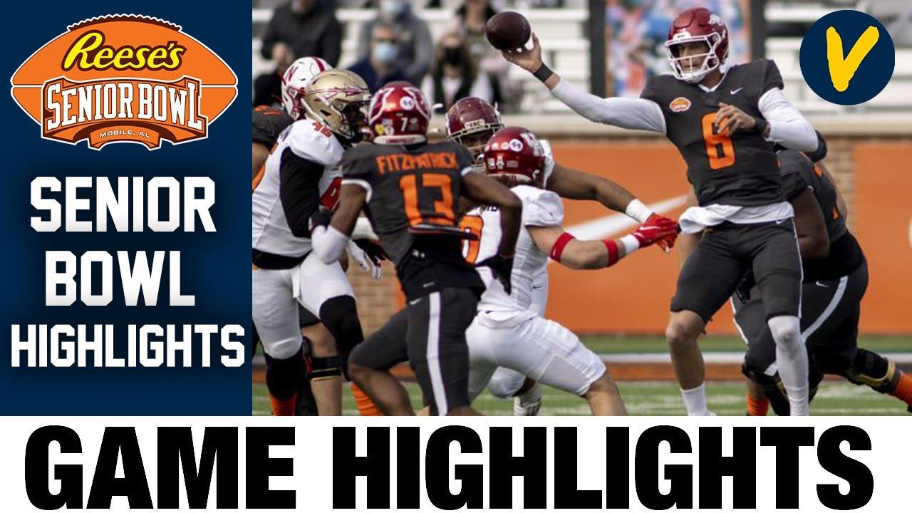 2021 Senior Bowl Highlights Highlights   College Football Highlights 2021