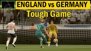 England vs Germany Tough Football Match FIFA 19 Gameplay