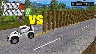 Farming Simulator 17   BIG BUD TRACTOR VS DOMINO BALES
