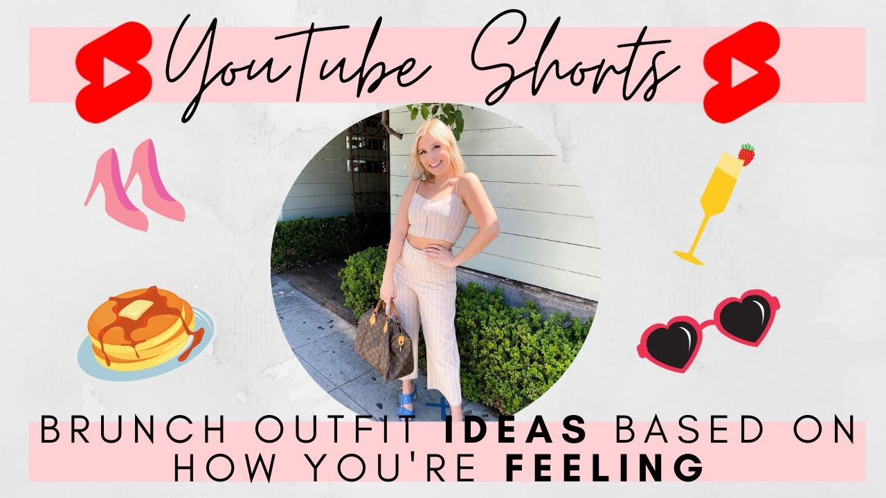 Brunch outfit ideas based on how you're feeling 😴😊😜
