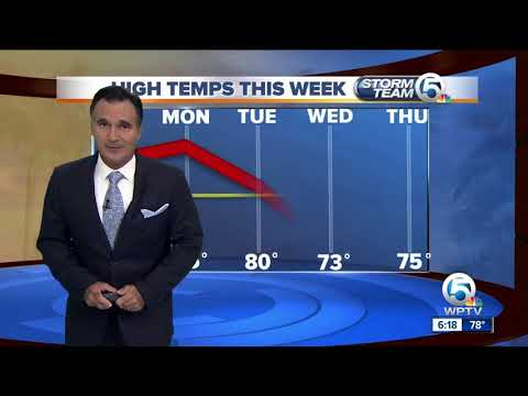 South Florida weather 11/24/18 - 6pm report