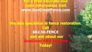 Dallas fence repair cedar wood privacy company texas plano fence repair